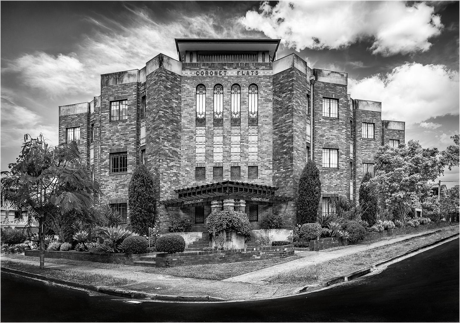 Architecture_Coronet Court, 1930s Art Deco, New Farm_Anne Pappalardo_Agr_Merit