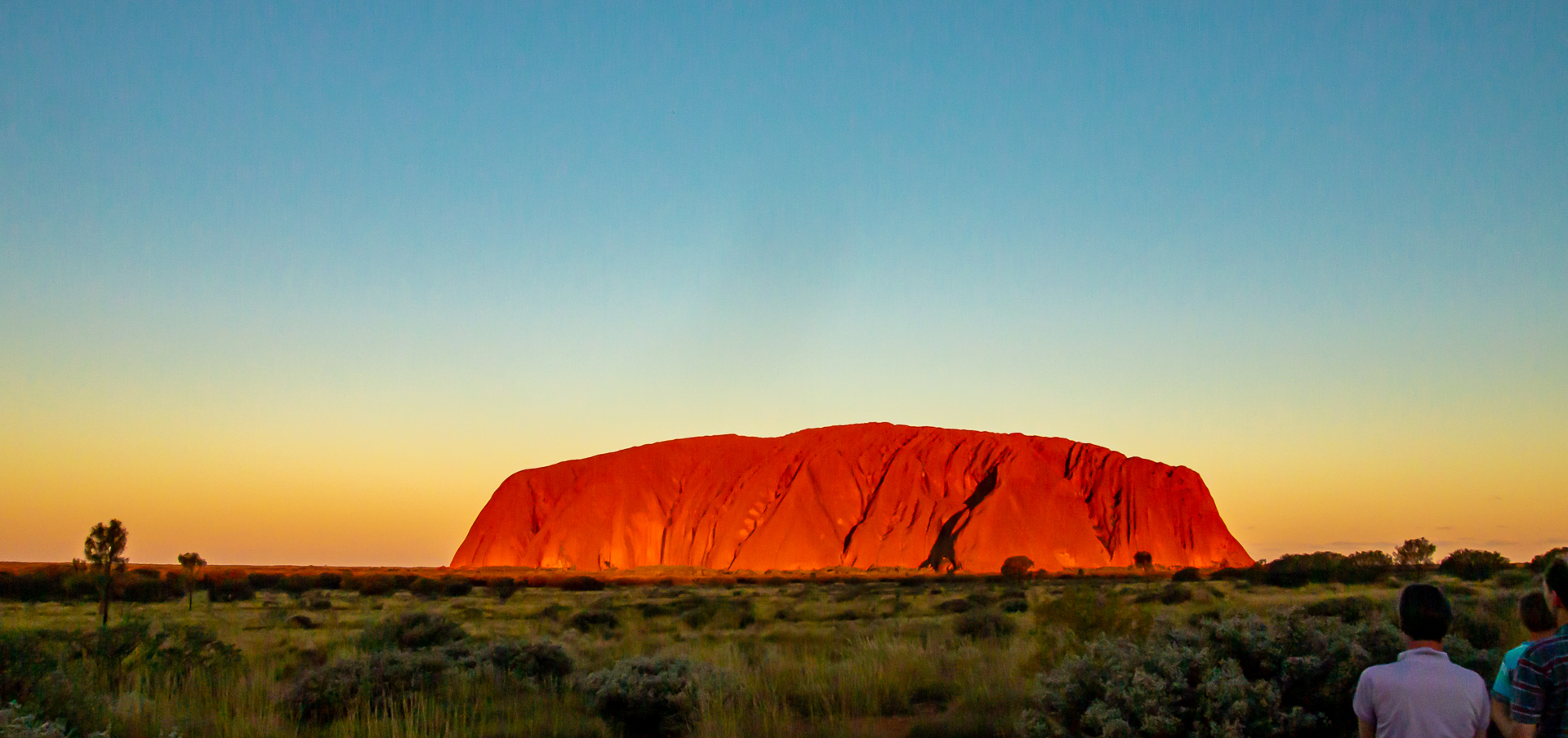 Uluru at Sunset - 2014