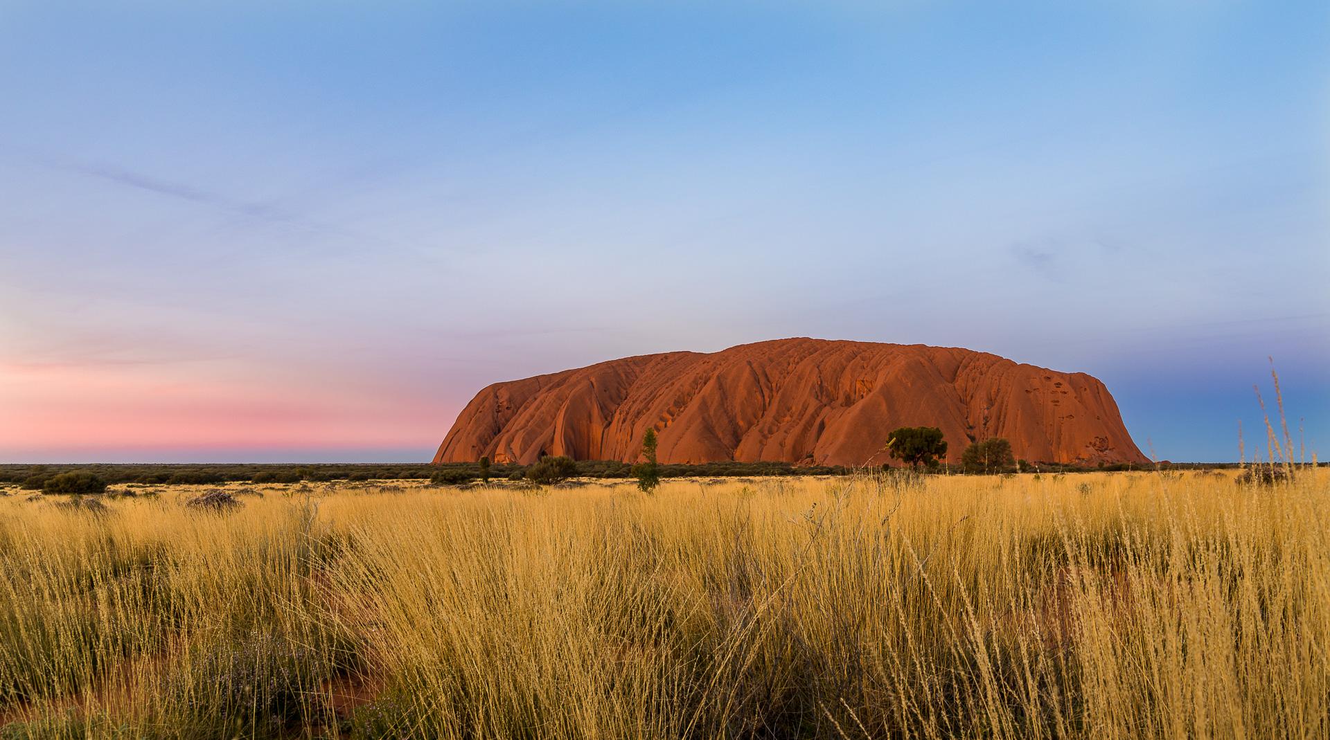 Uluru at Sunset - 2017