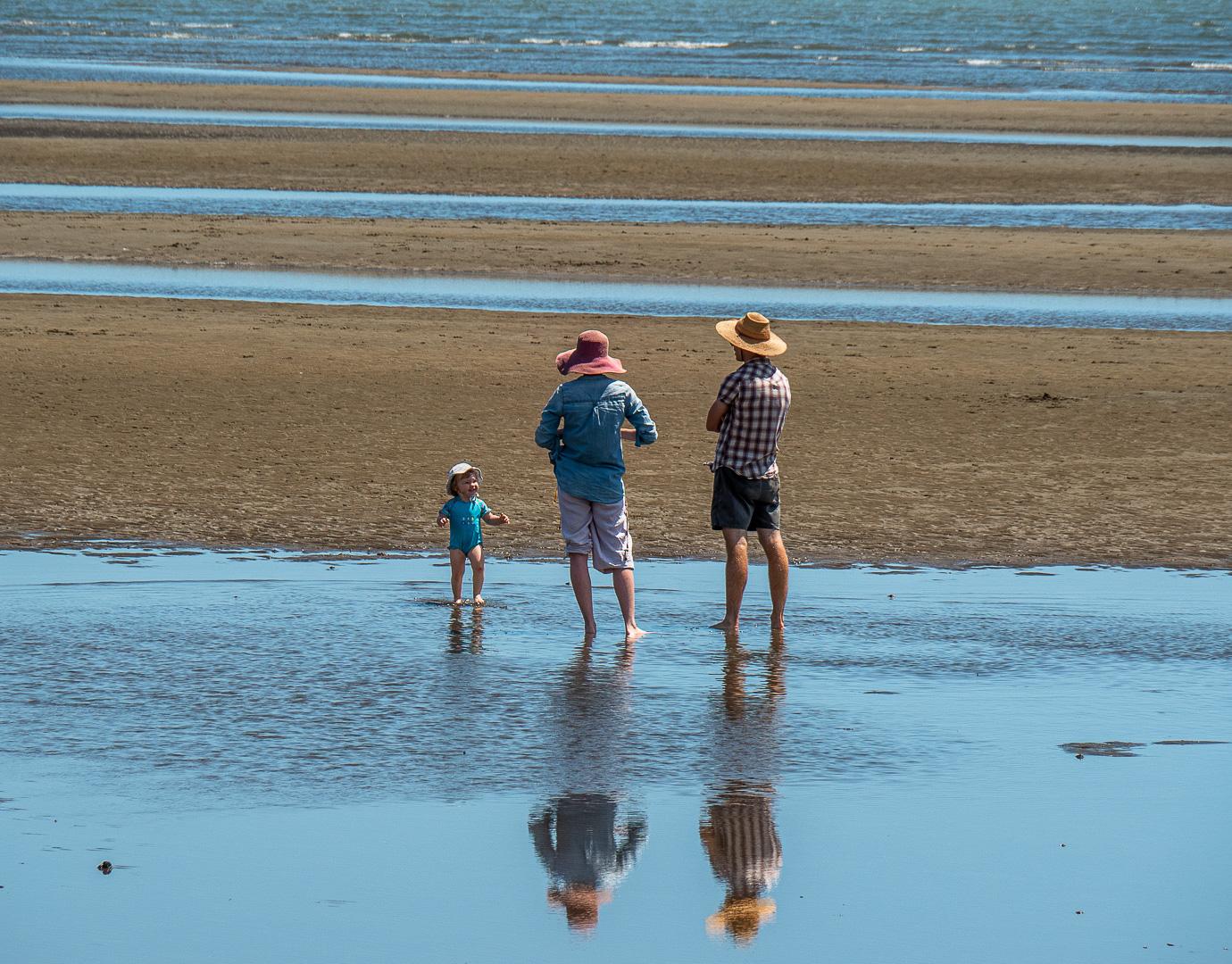 At Nudgee Beach - 2016