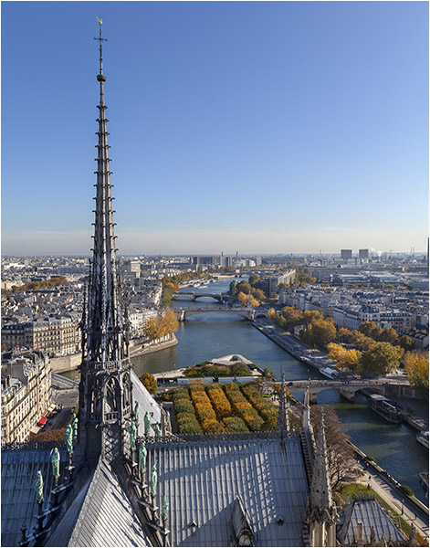 Open PRINT_Notre Dame Spire No More_Phil Lawrence_A grade_MERIT