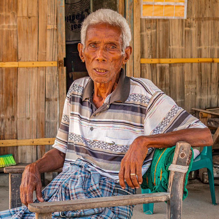 PRINT_ Open  Village Elder _David Cain Merit B Grade