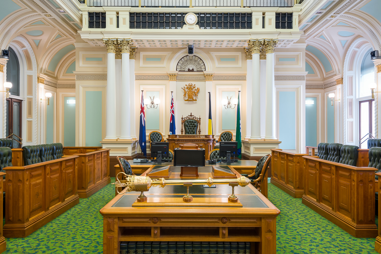"""A selection of photos for a new book titled """"The People's House - Queensland's Parliament House in Pictures"""" by the Queensland Parliament to celebrate the 150th anniversary of Queensland Parliament House."""