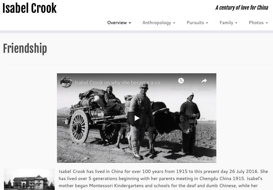CLICK HERE for Isabel Crook's website