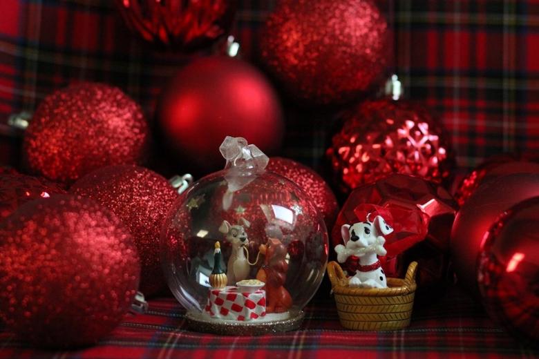 decorations Noel Disneyland paris