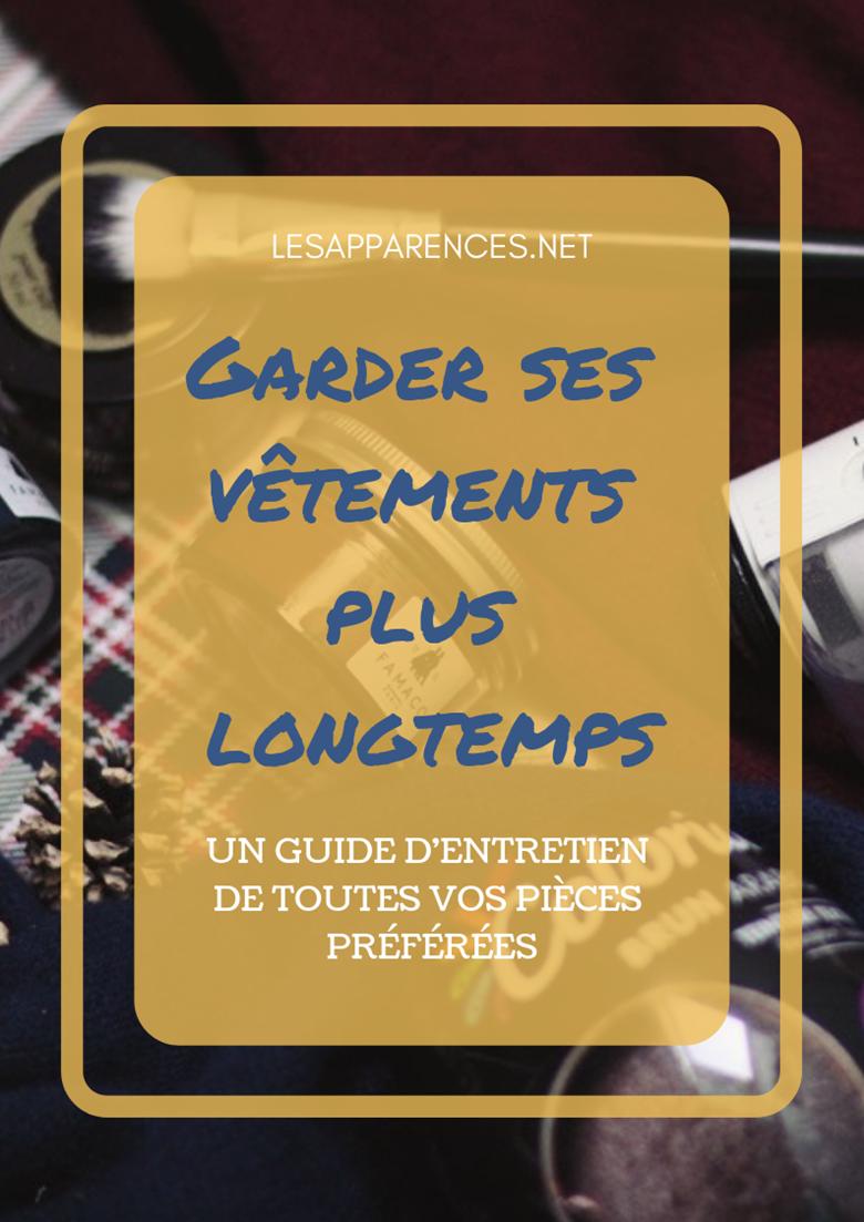 Blog mode guide entretien vetements durable