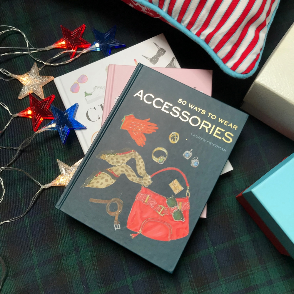 Livre fashion mode 50 ways to wear accessories Lauren Friedman
