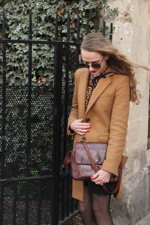 Blog mode parisien fashion paris leopard imprime