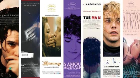 BO Xavier Dolan  films