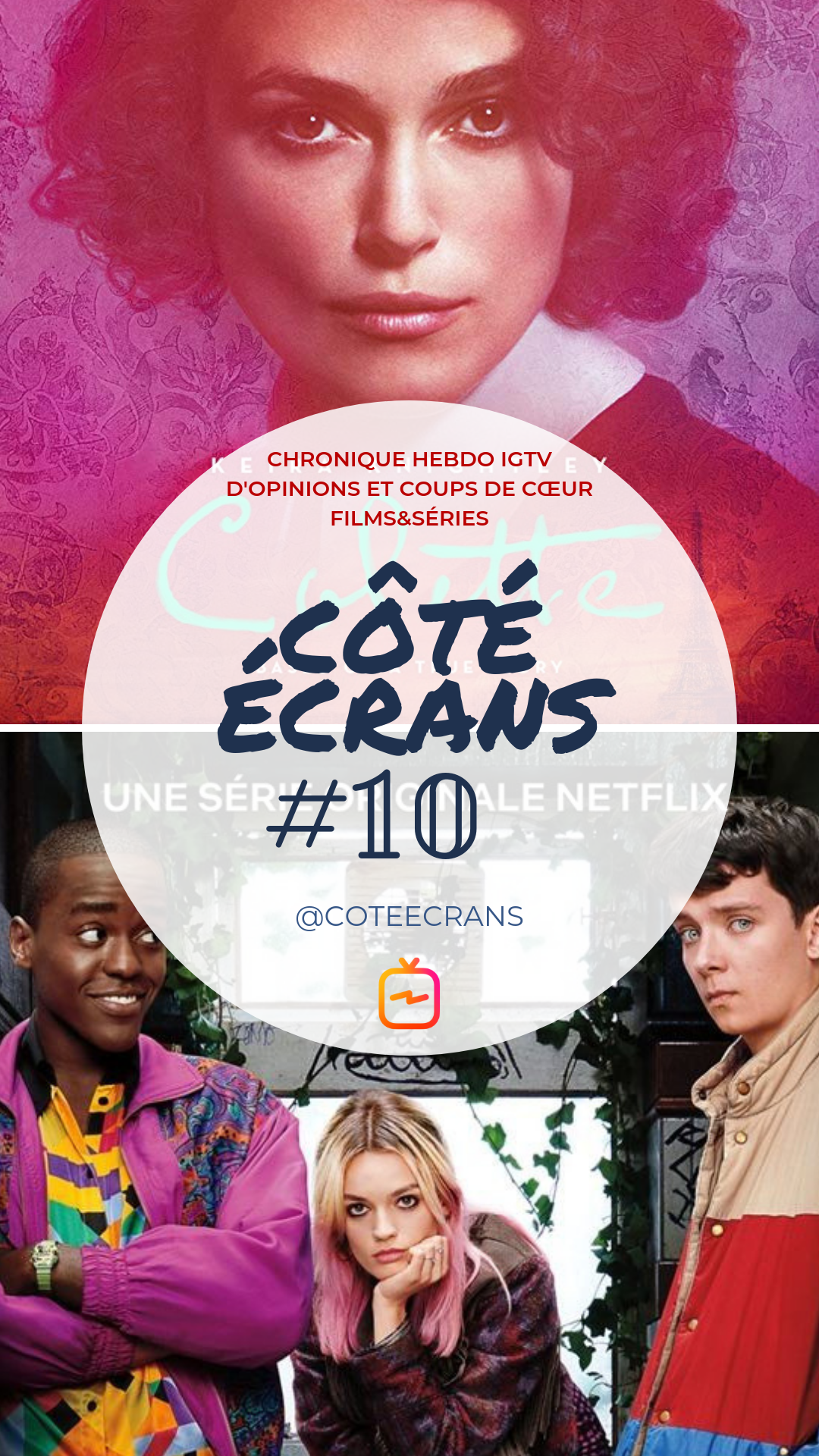 Critique film et serie Sex Education et Colette