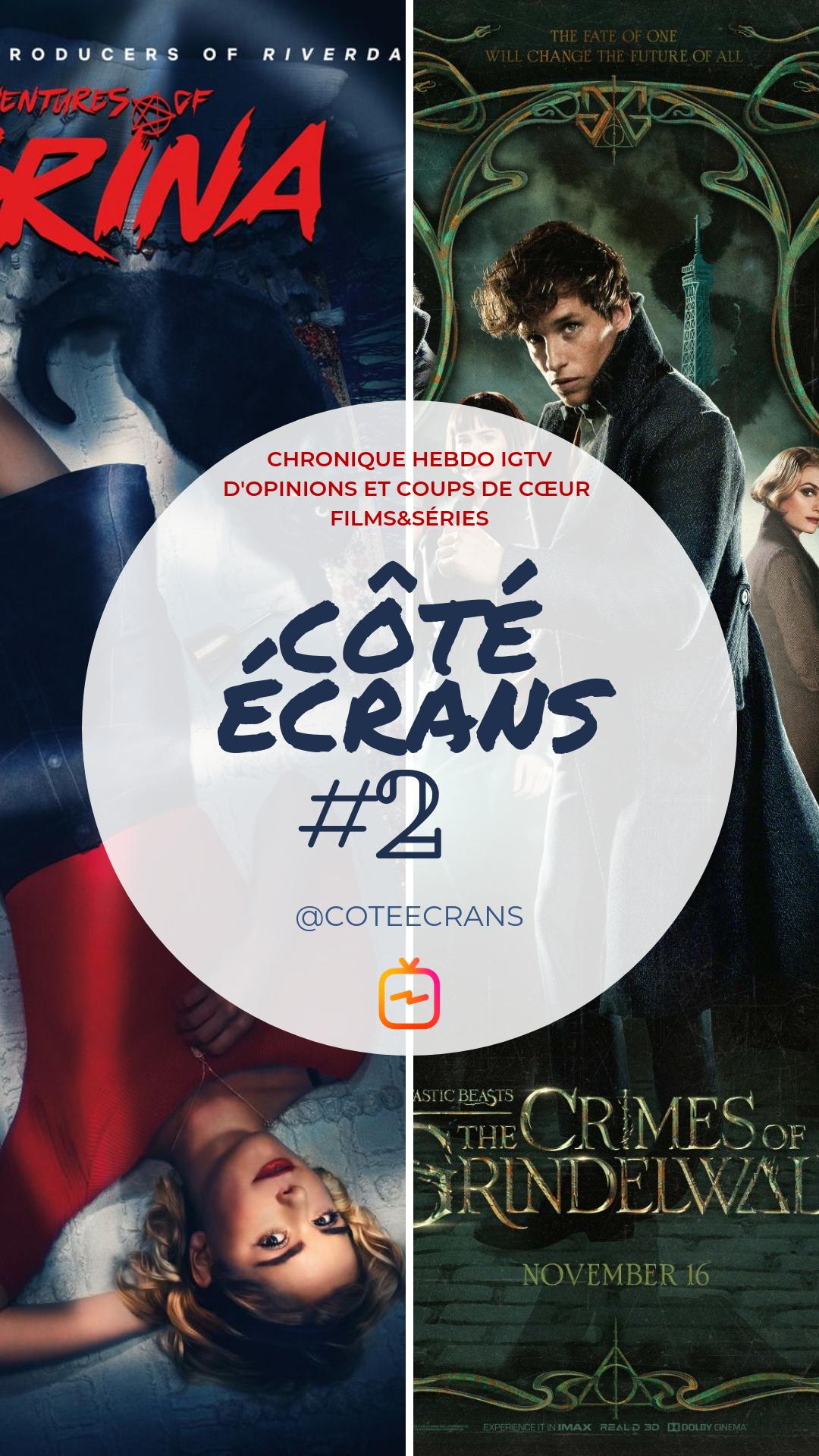 Critique film et serie Sabrina et Les Crimes de Grindelwald