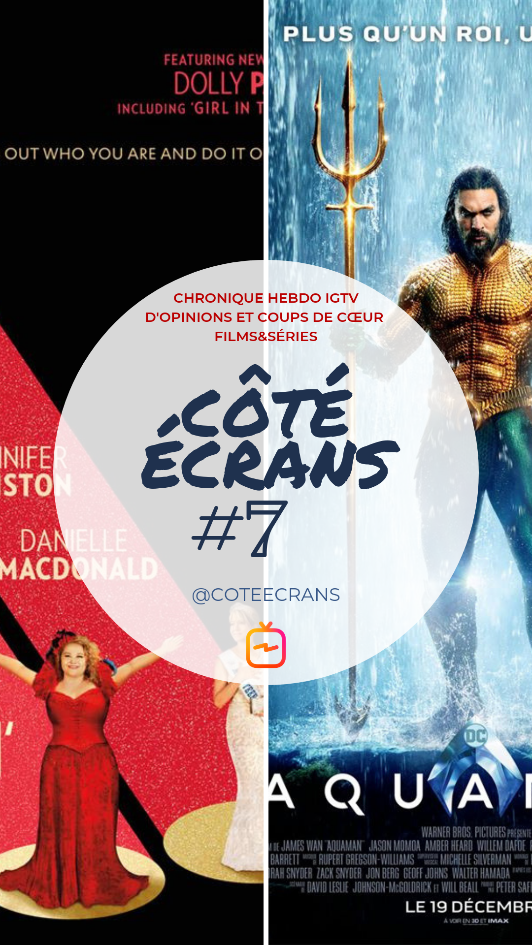 Critique film et serie Dumplin' et Aquaman