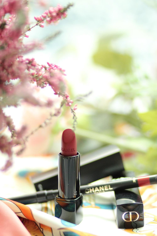 Rouge à levres chanel dior maquillage luxe beauté