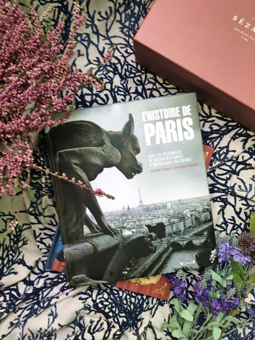 Livre Histoire de Paris
