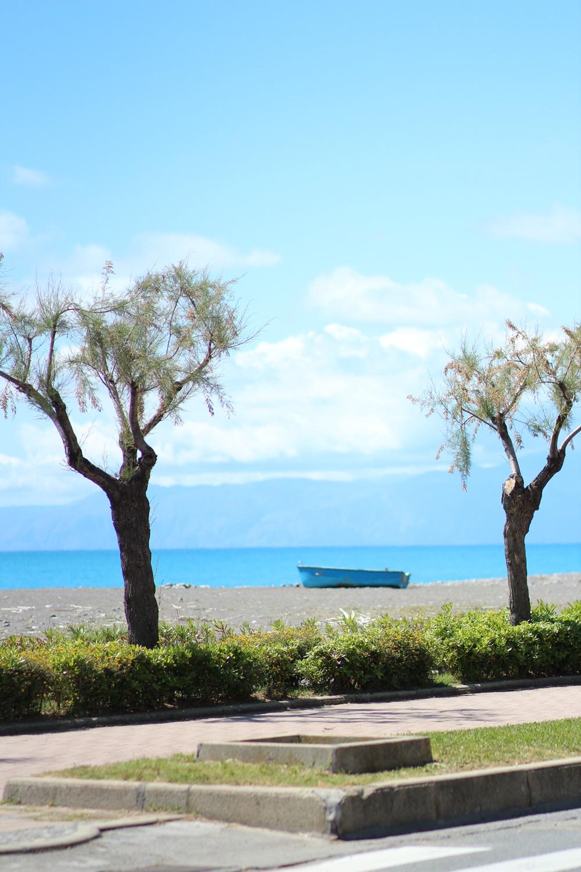 La plage et la mer turquoise de Praia a Mare