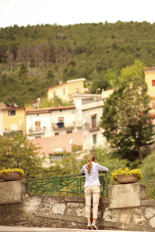 Un des nombreux  Belvedere  de Tortora