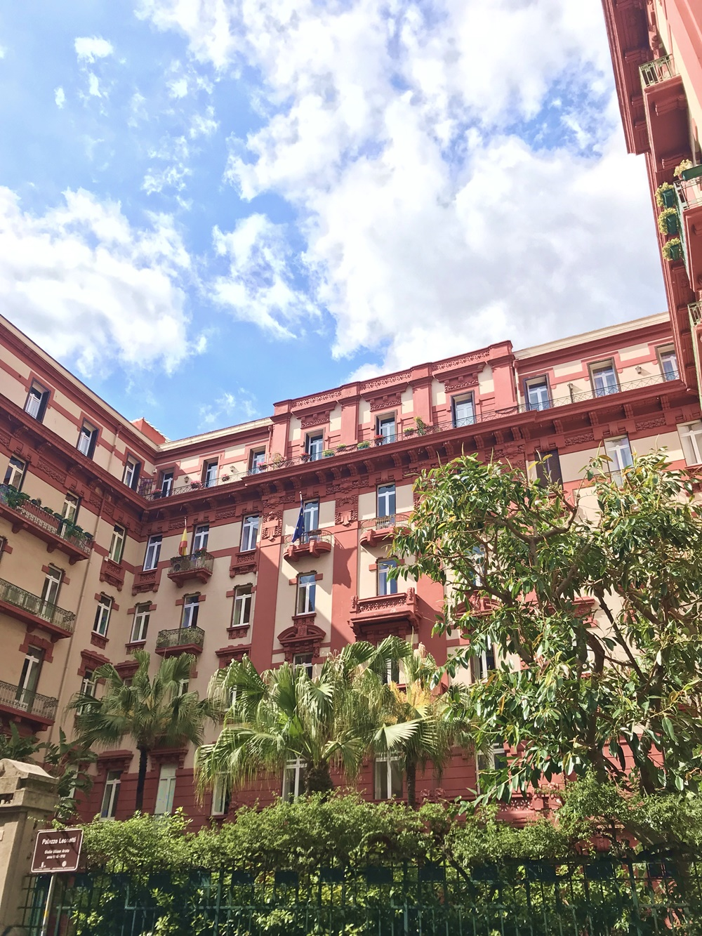 Consulat Espagnol, via dei Mille