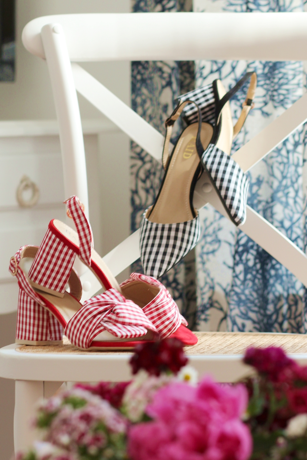 Chaussures vichy