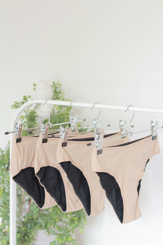Fempo culottes menstruelles nude creme