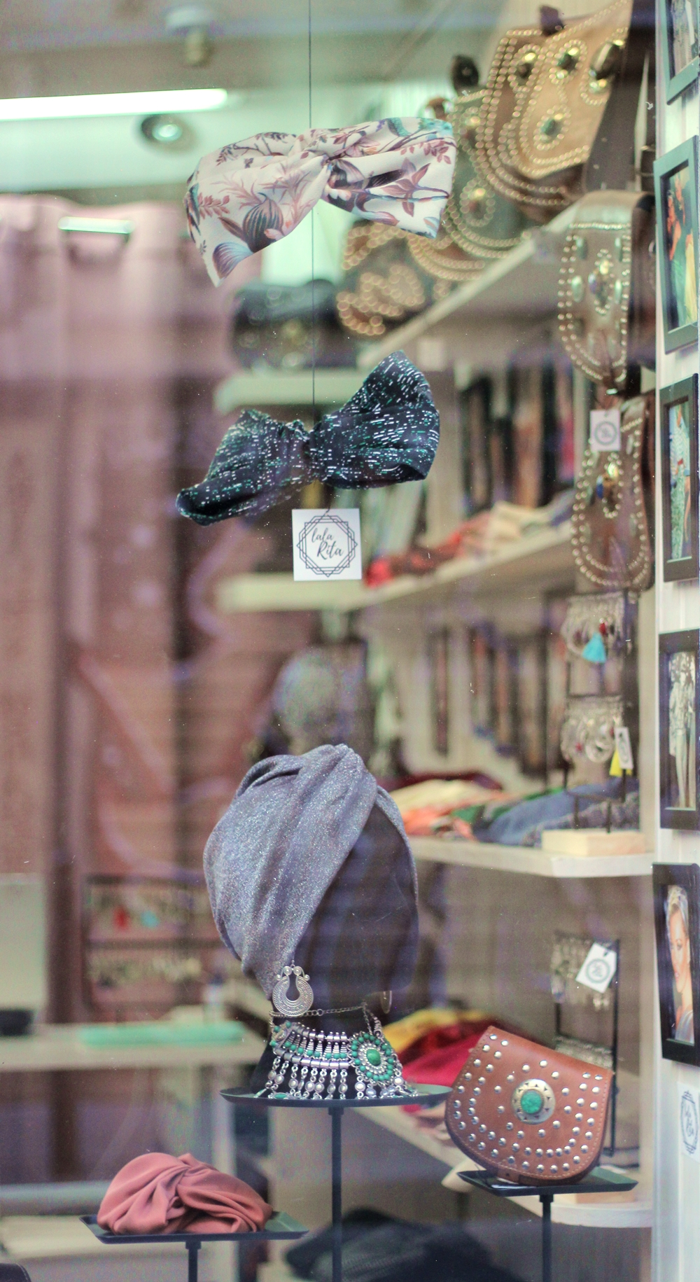 Lala Rita bandeaux headbands turbans handmade Paris
