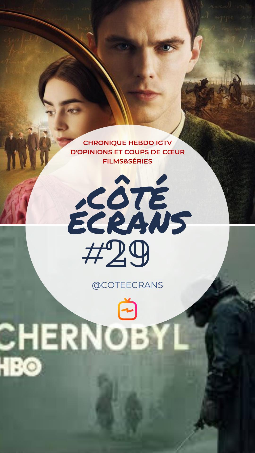 Critique film et serie : Tolkien et Chernobyl