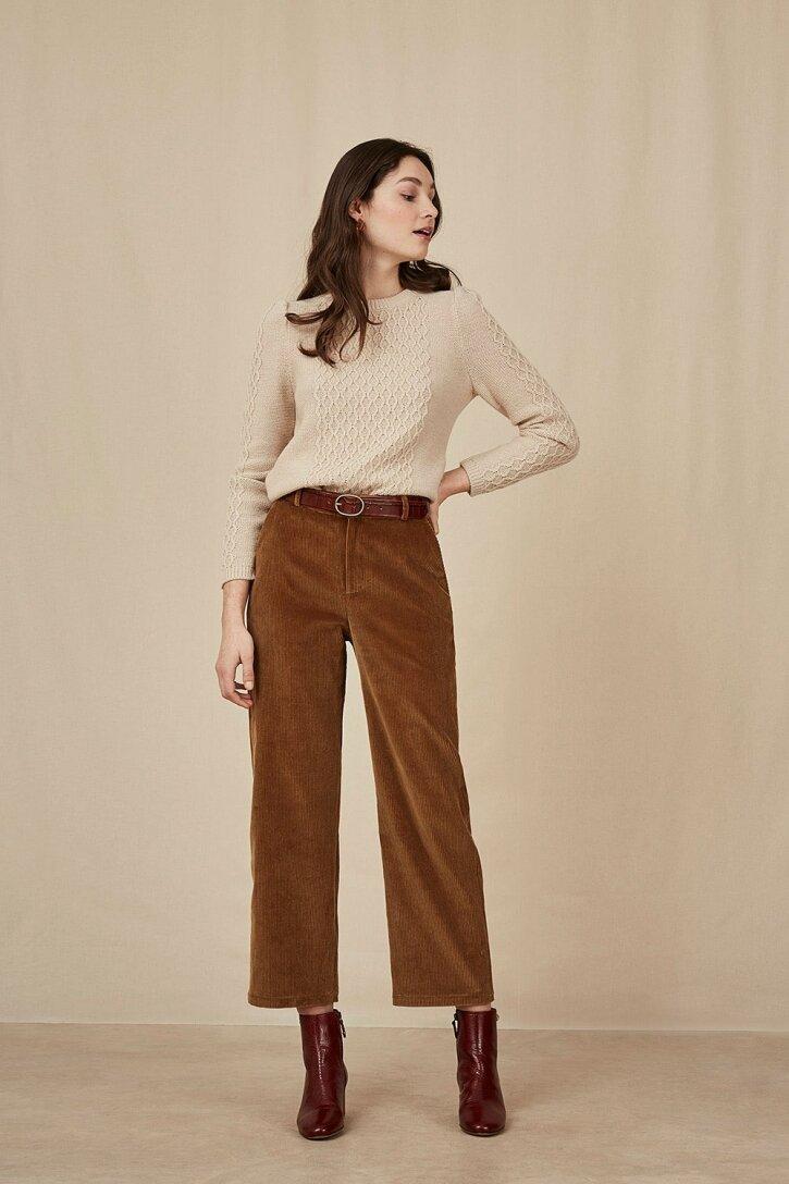 Pantalon ritili mousse - les petits hauts