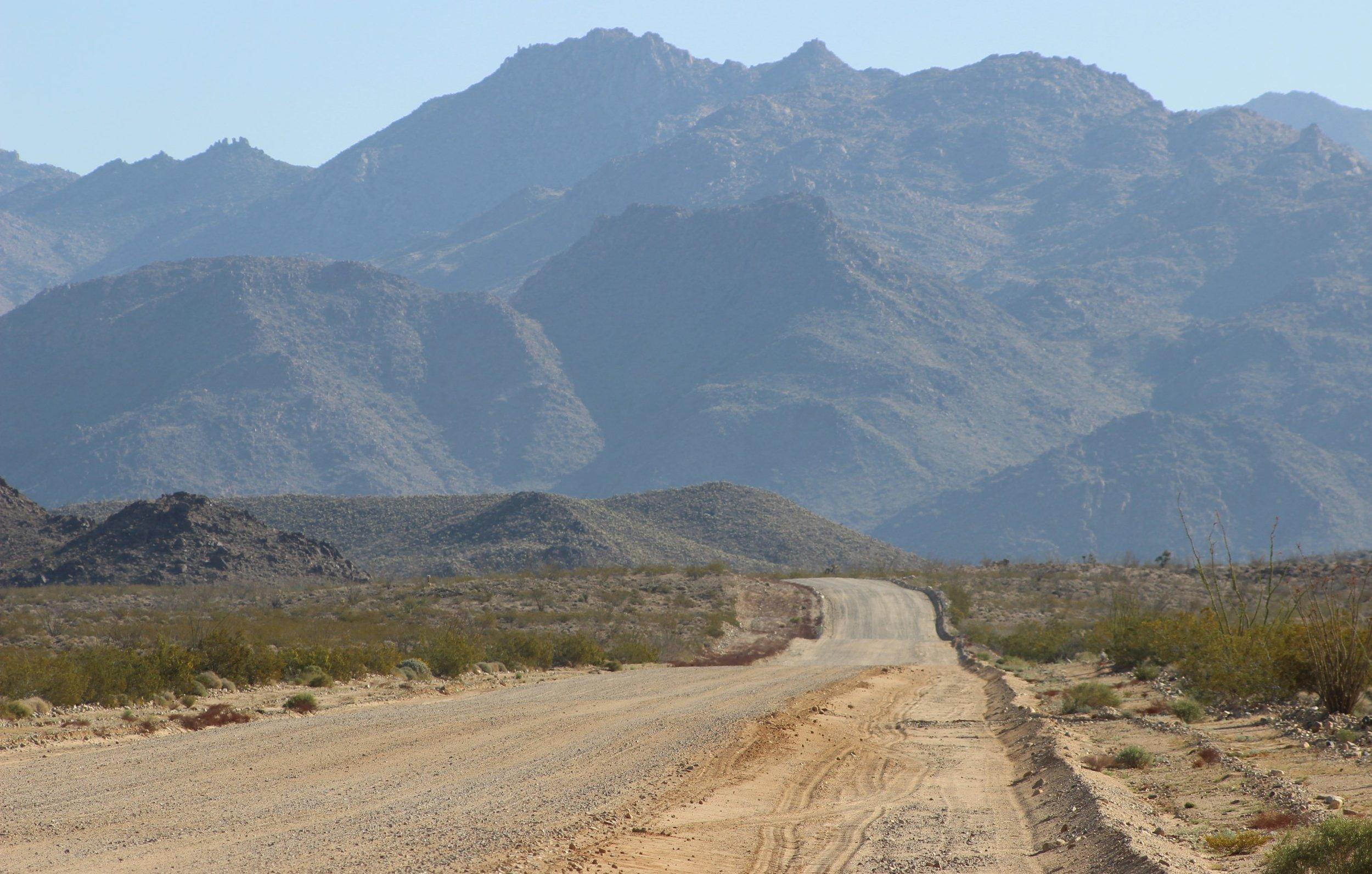 Hualapai Mountains.JPG