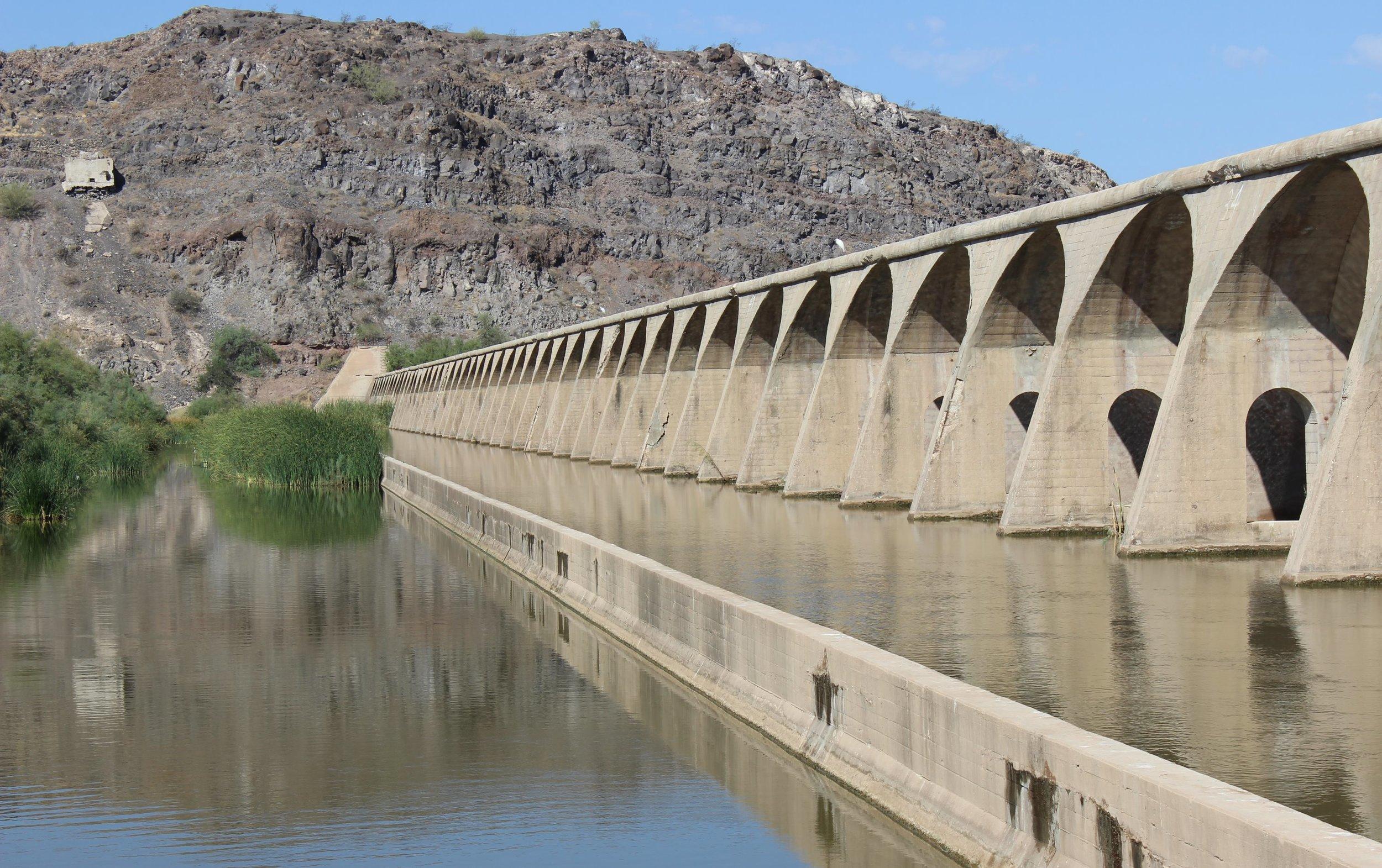 Gillespie Dam.