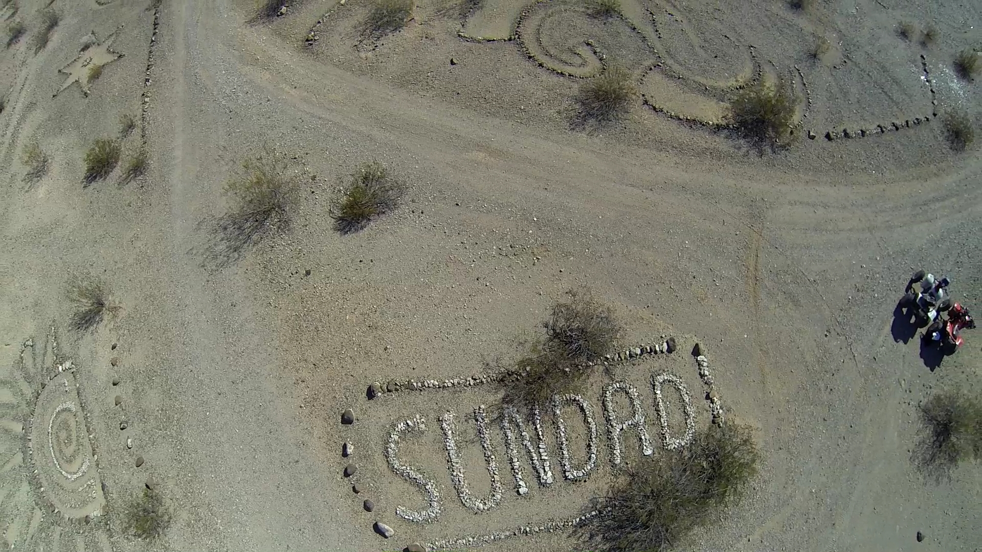 Aerial view of Sundad.