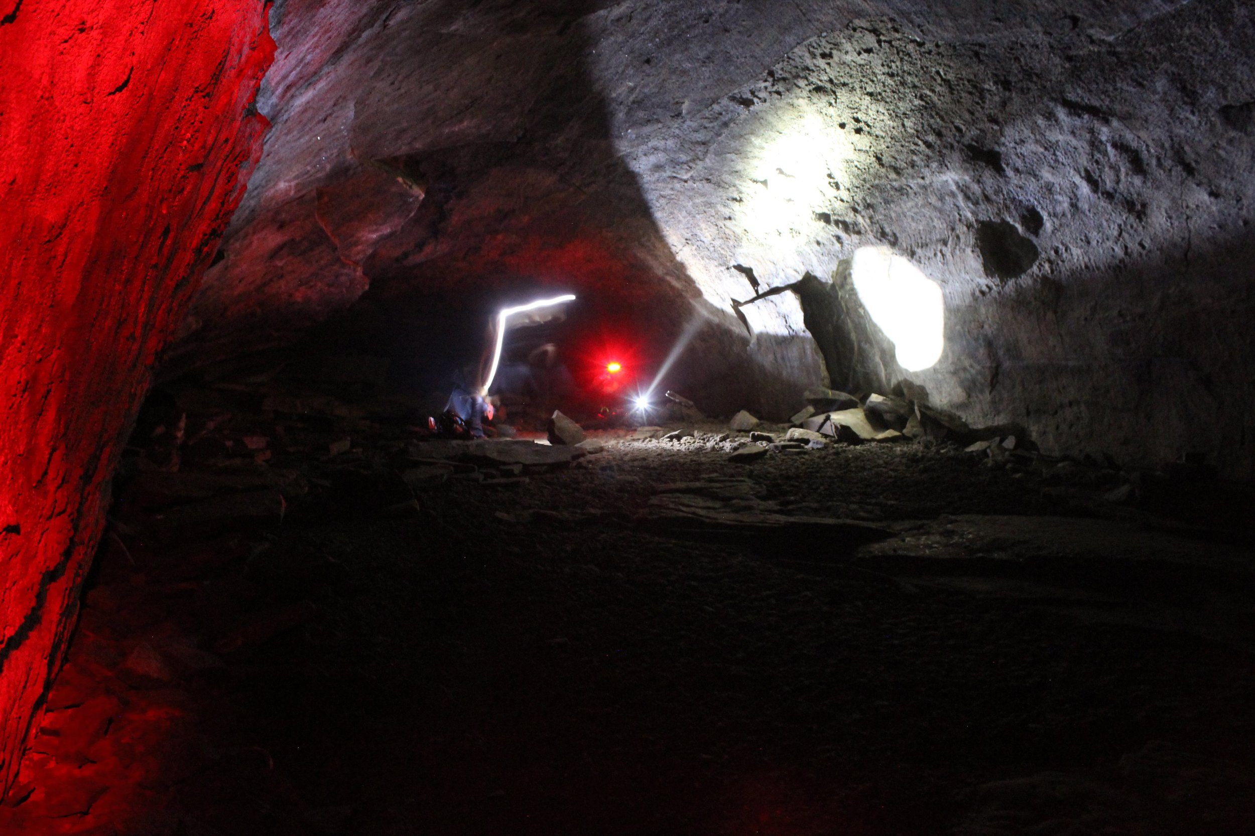 The end of the Lava River tube