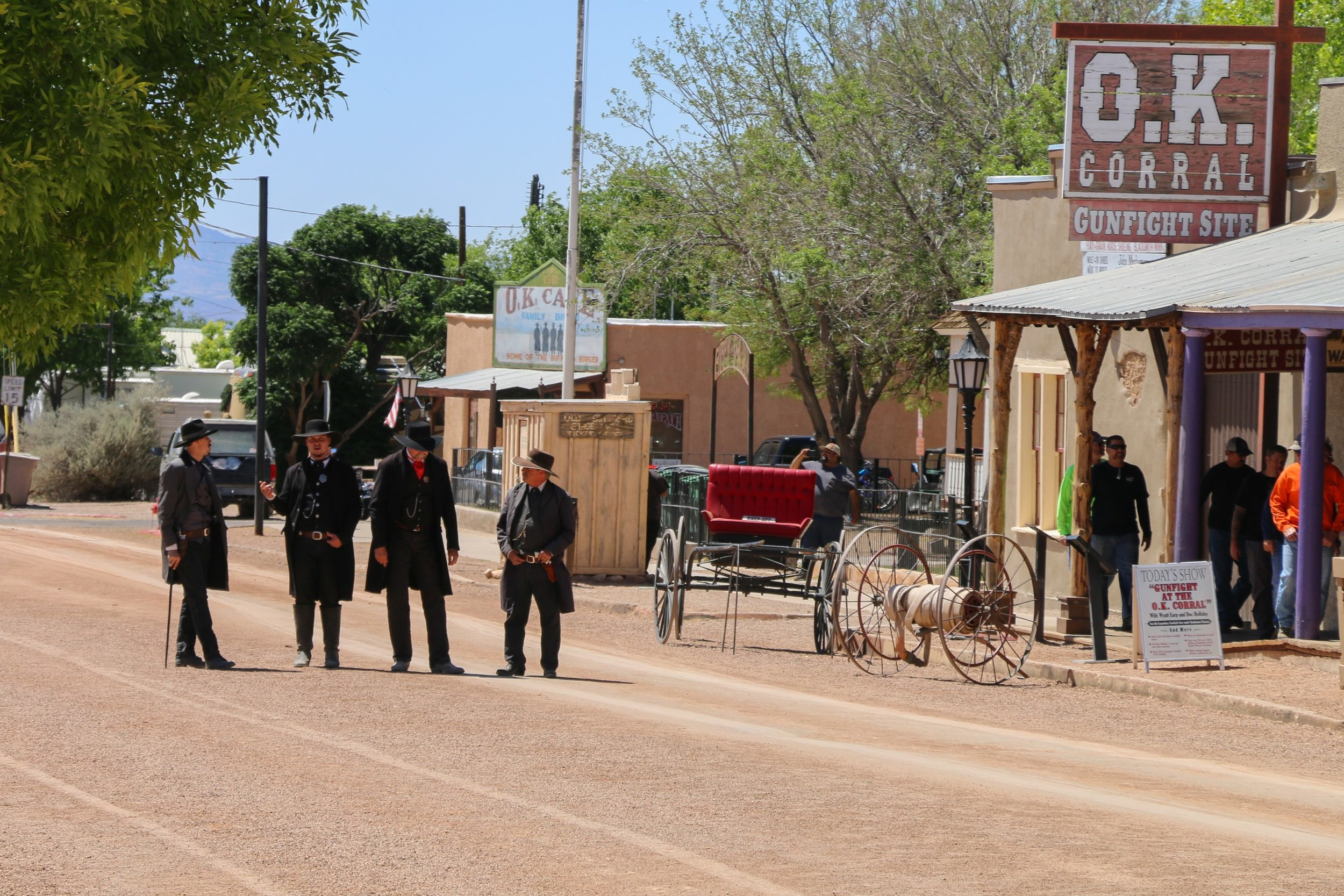 Something stirs on the streets of Tombstone.