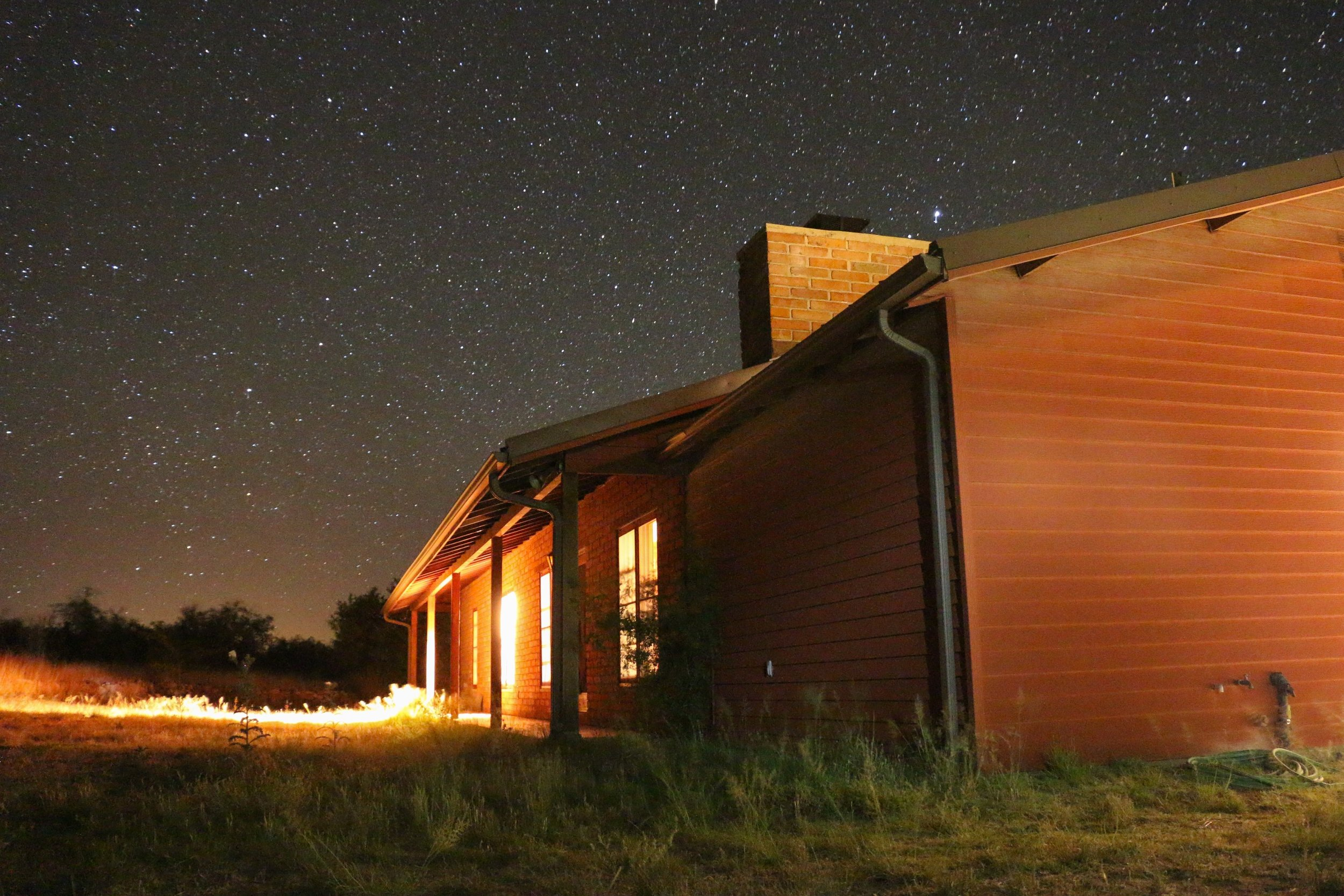 The night sky at Half Moon Ranch was nothing short of spectacular.
