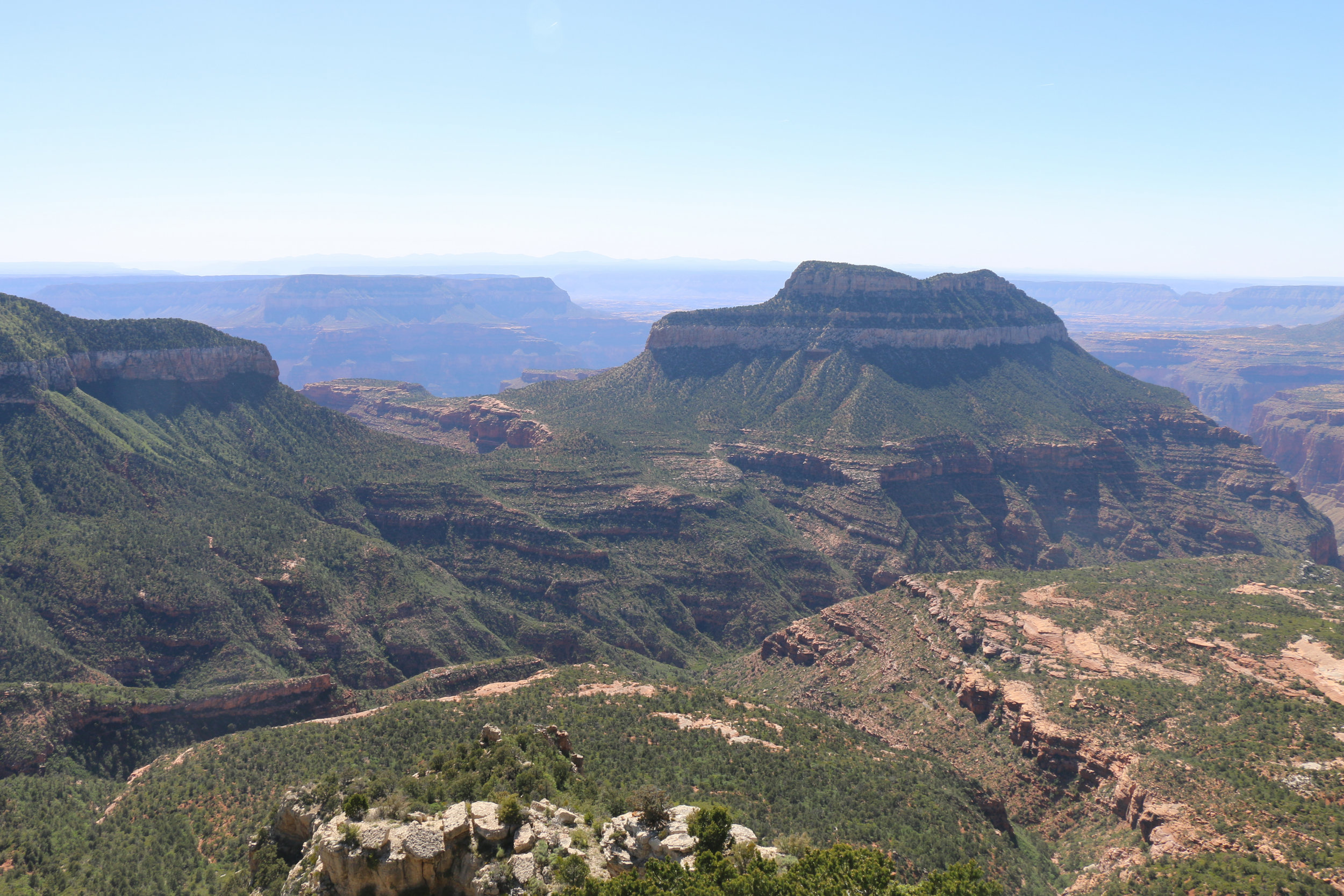 The incredible view from Fire Point.