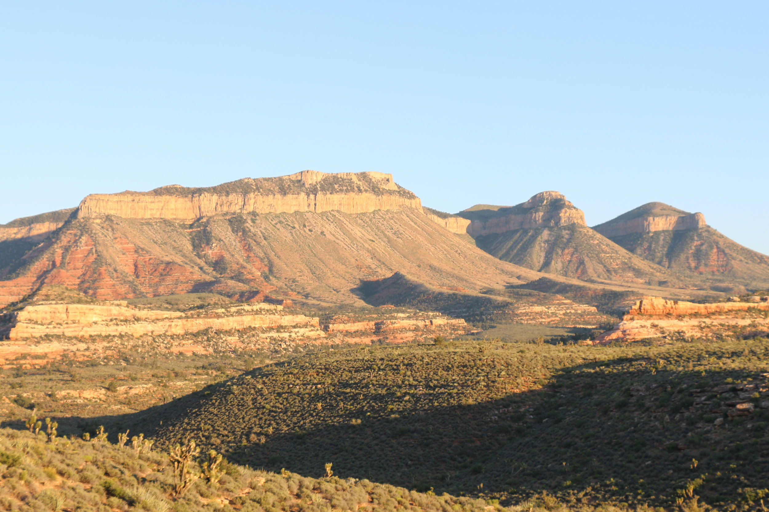 Driving through the heart of the Grand Canyon-Parashant National Monument.