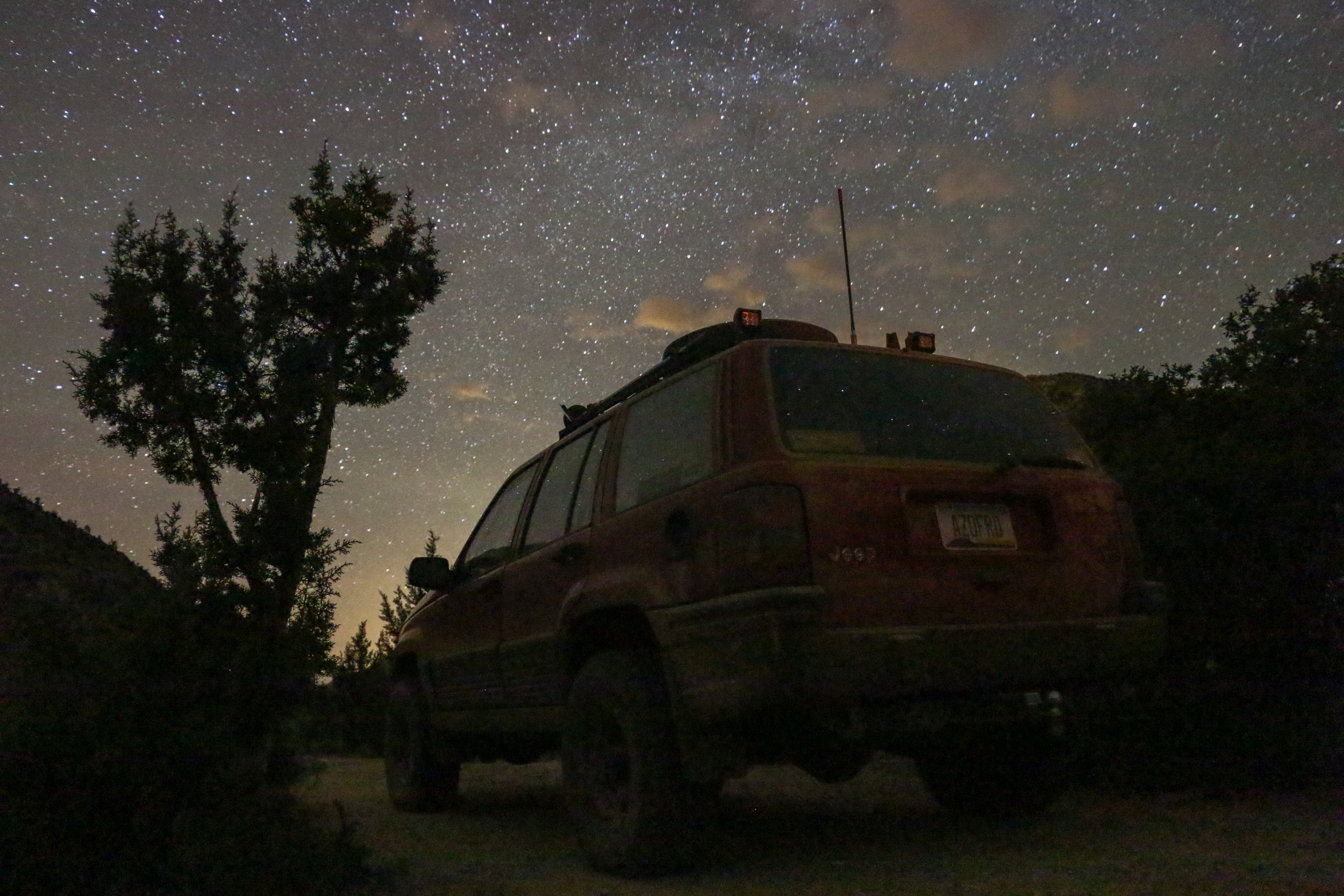 After 12 hours on the trail, it was nice to stop for the night.