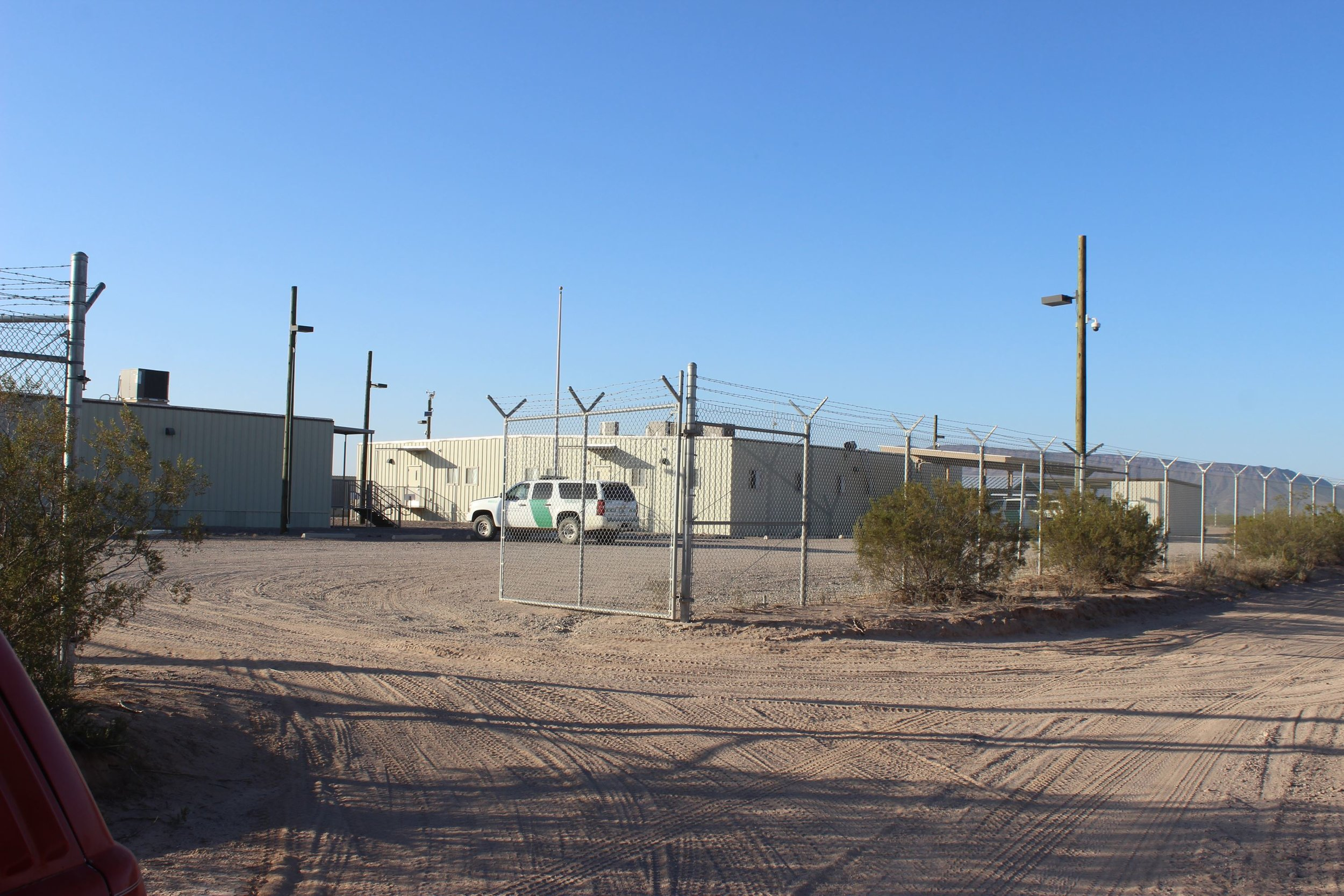 Border Patrol FOB along El Camino.