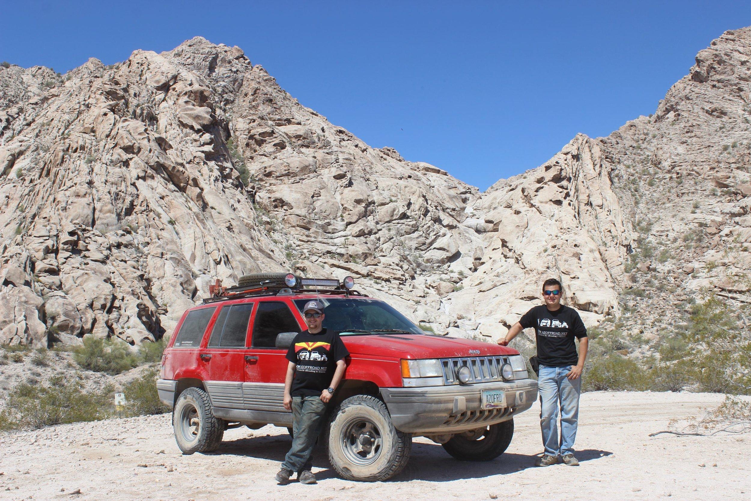 Daniel & Scotty on El Camino.