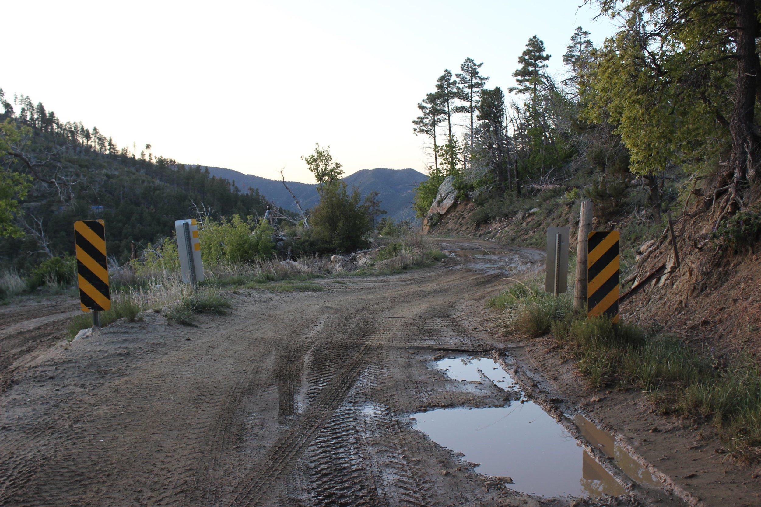 The trail to Horsethief Lake