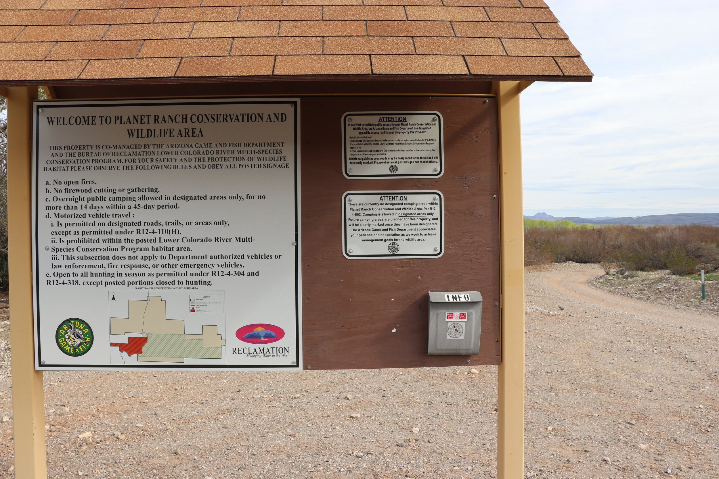 Recently opened, visitors are now able to traverse the Planet Ranch Conservation area.
