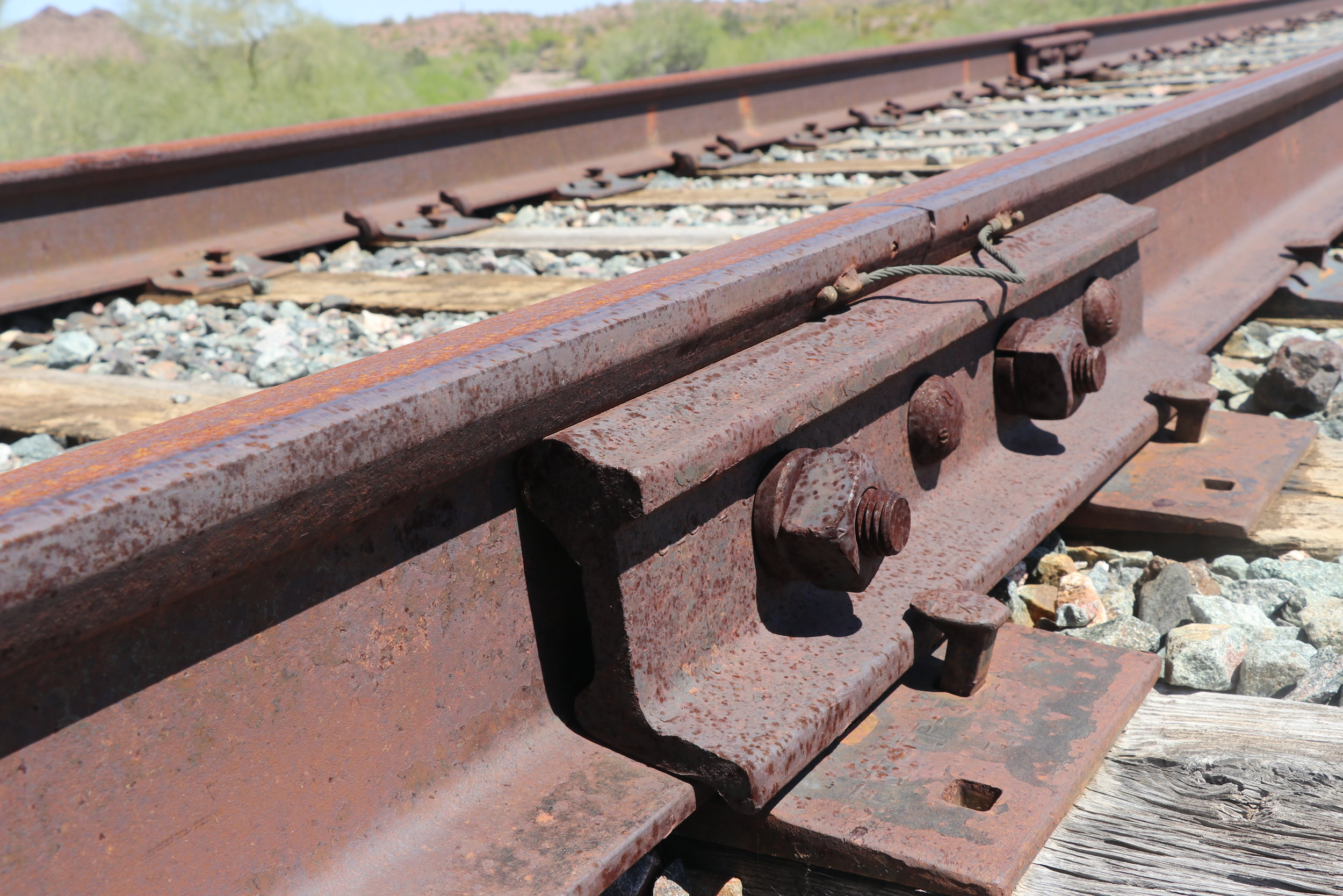 This equipment would have been tampered with to cause the derailment.