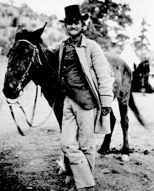 An image of Frederick Loring taken a few days before the massacre.