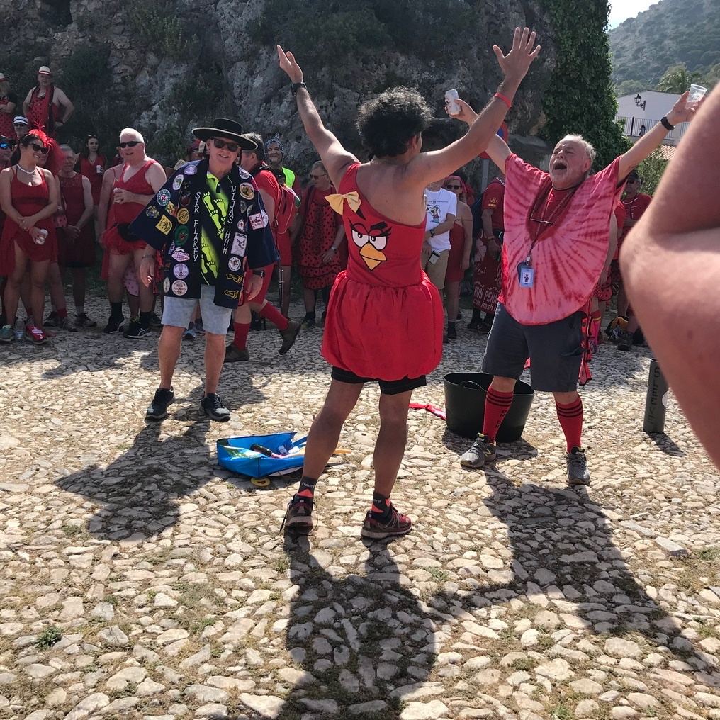 Mijas H3 - Hash Flash Red Hot Chili - 30th Ann. Red Dress Run 1631  - 16 May 2019 - Photo14.jpg