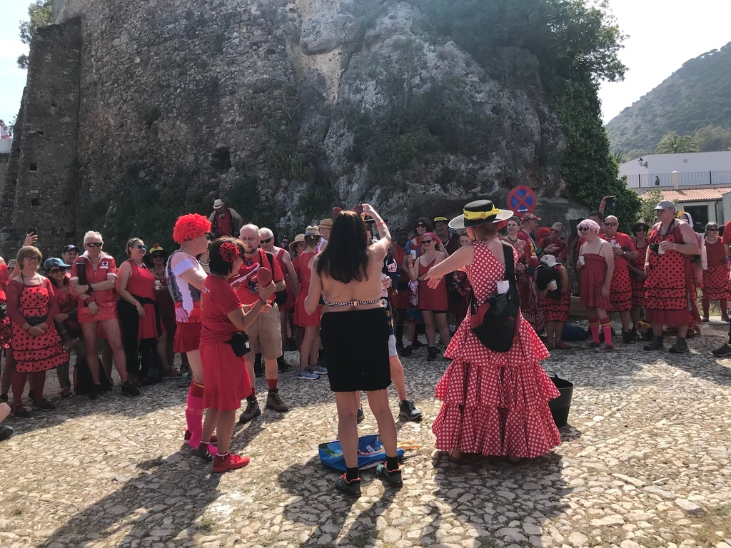 Mijas H3 - Hash Flash Red Hot Chili - 30th Ann. Red Dress Run 1631  - 16 May 2019 - Photo16.jpg