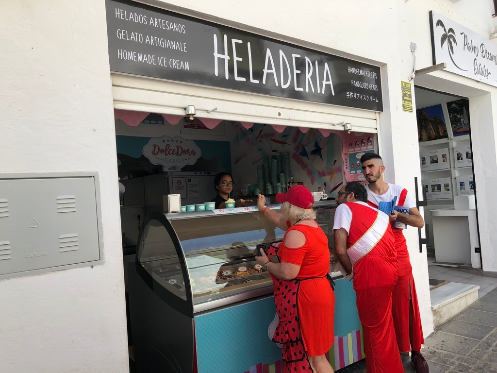 Mijas H3 - Hash Flash Red Hot Chili - 30th Ann. Red Dress Run 1631  - 16 May 2019 - Photo3.jpg