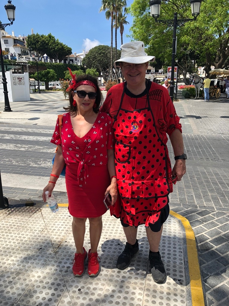 Mijas H3 - Hash Flash Red Hot Chili - 30th Ann. Red Dress Run 1631  - 16 May 2019 - Photo2.jpg