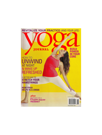 Yoga Journal November 2013: Free Flow