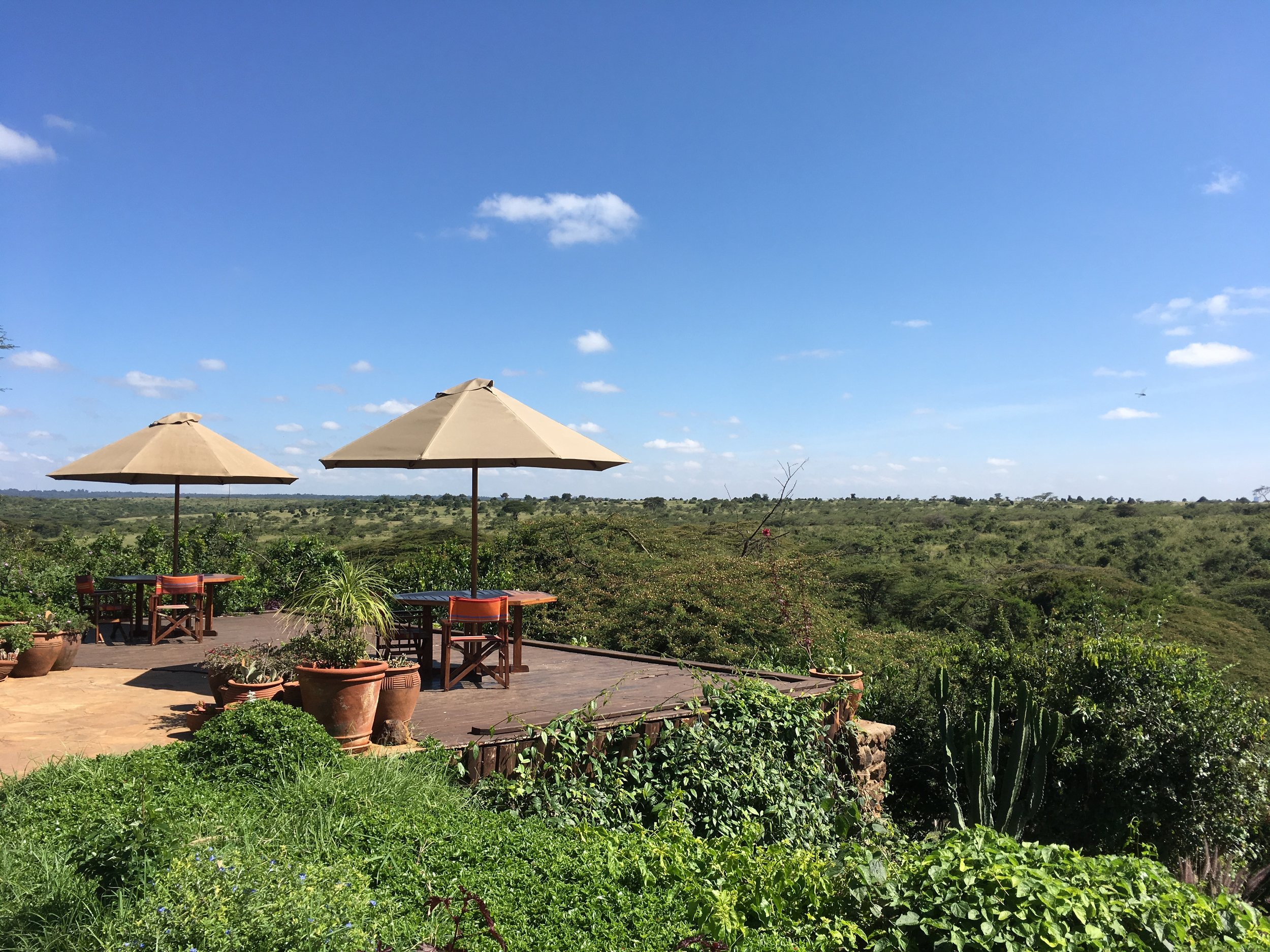 Ololo Safari Lodge overlooking Nairobi National Park