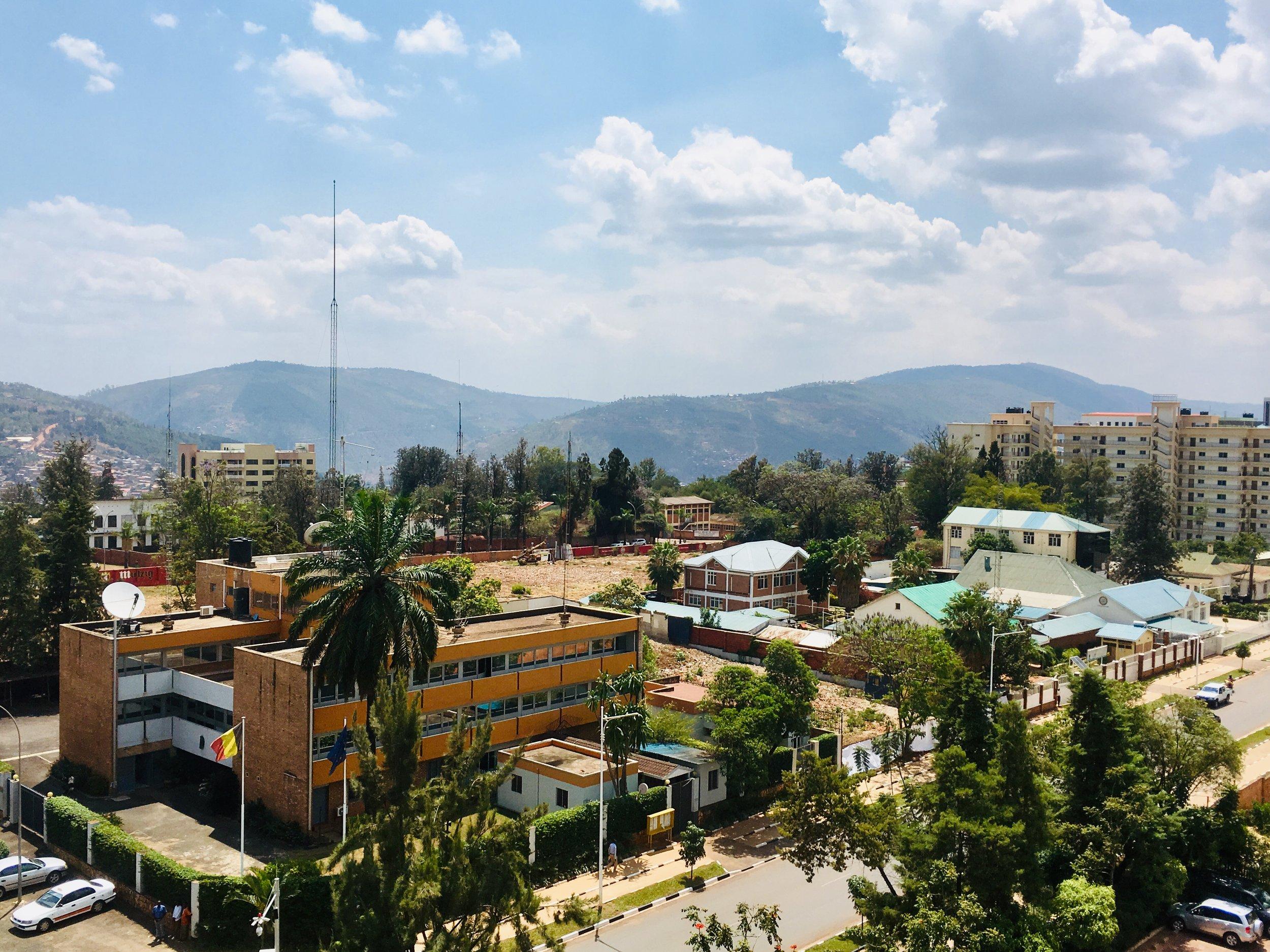 Kigali streets