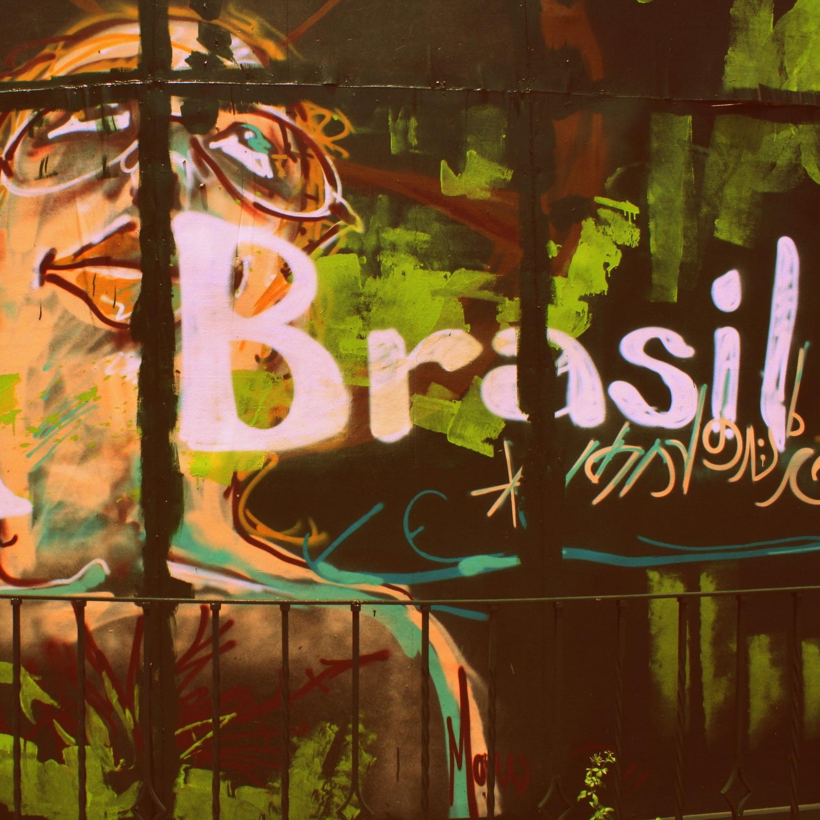 Sao Paulo street art Brasil