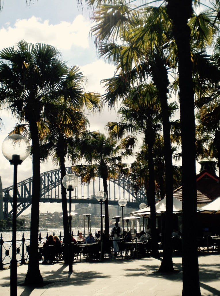 Sydney Harbour Bridge view
